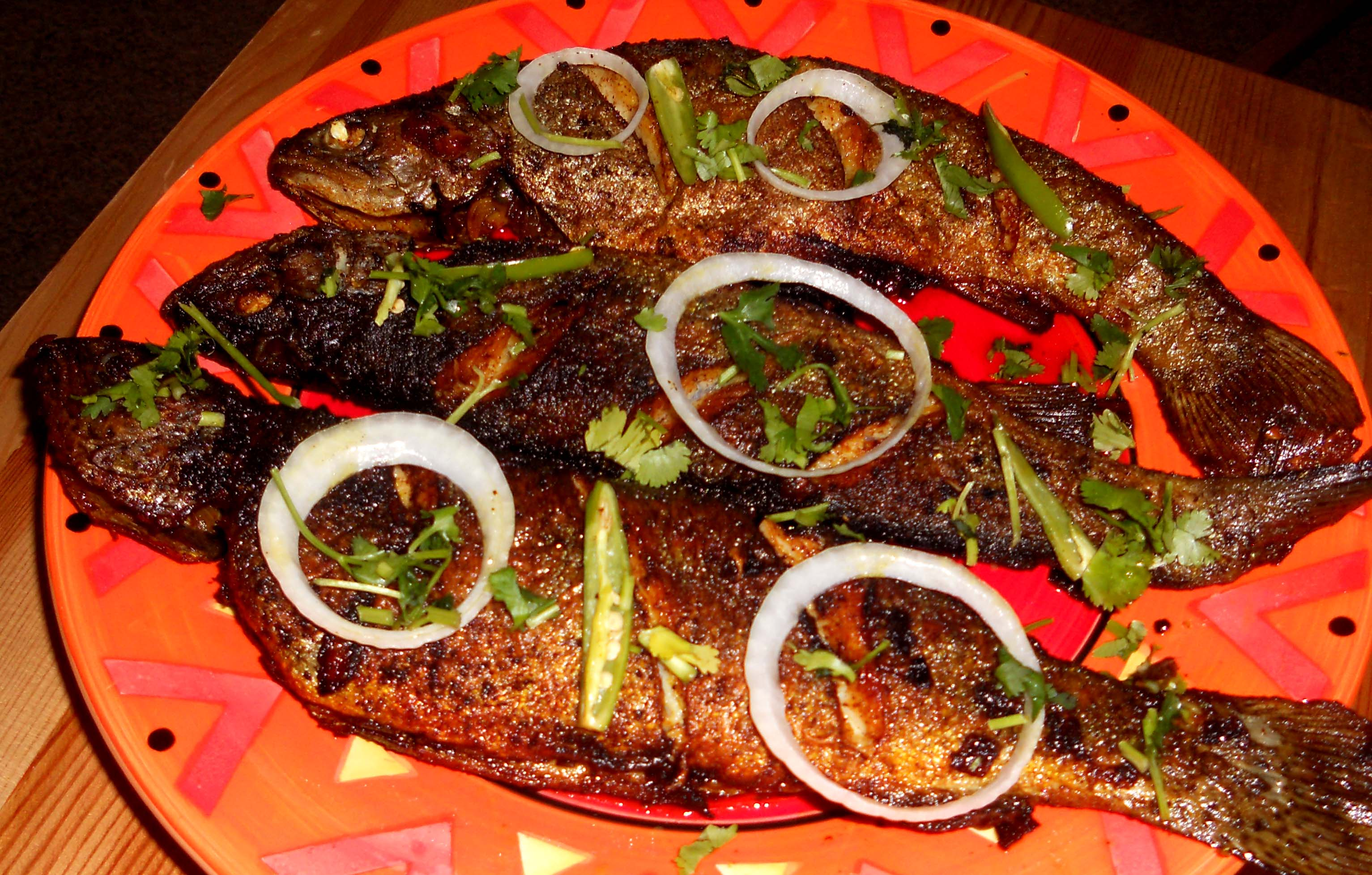 Fried trout - a delicious source of omega-3 fatty acids 4