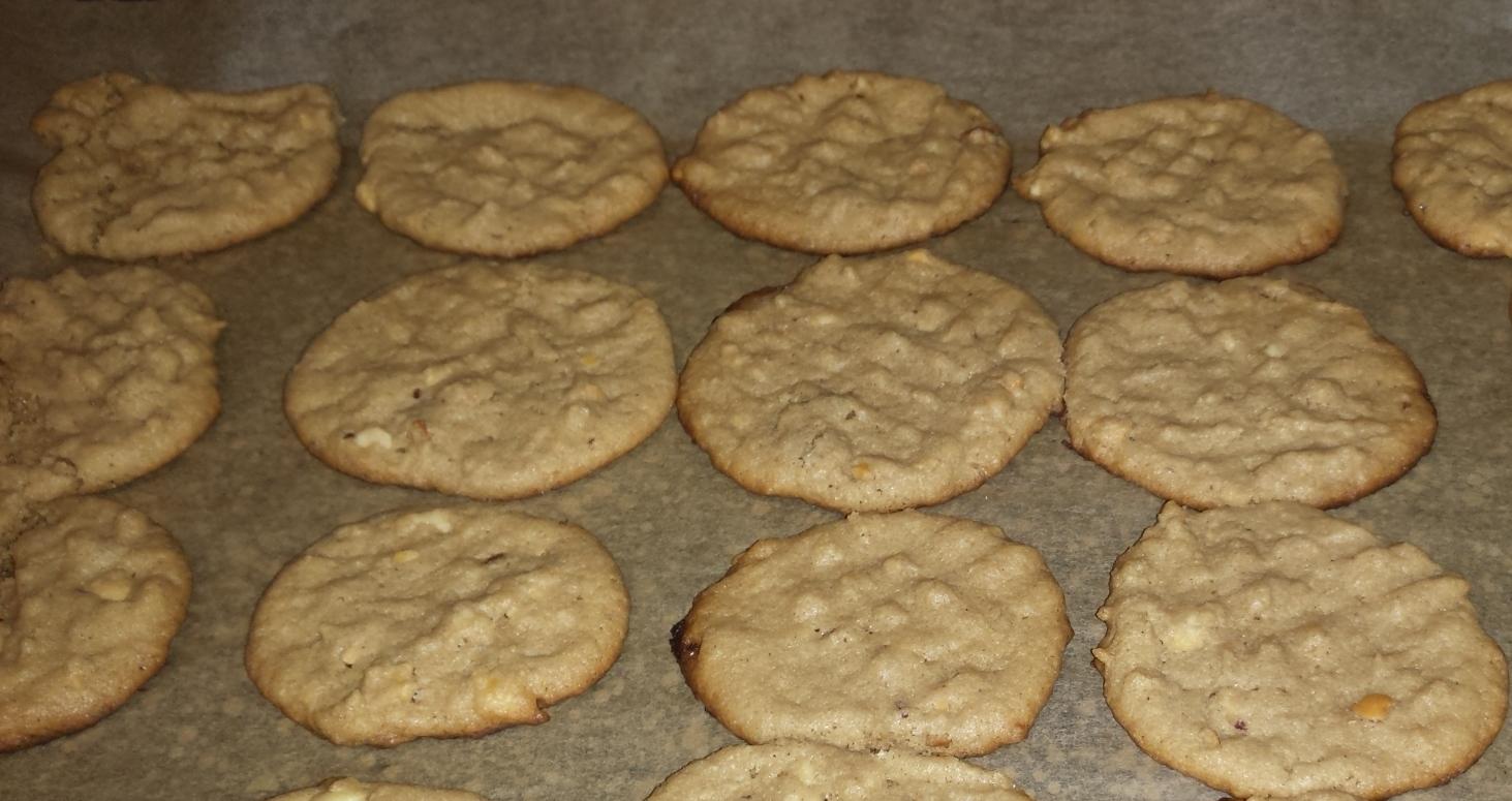 Flourless Peanut Butter Cookies - The Saffron Platter
