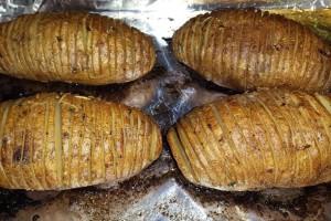 Hasselback potatoes 2